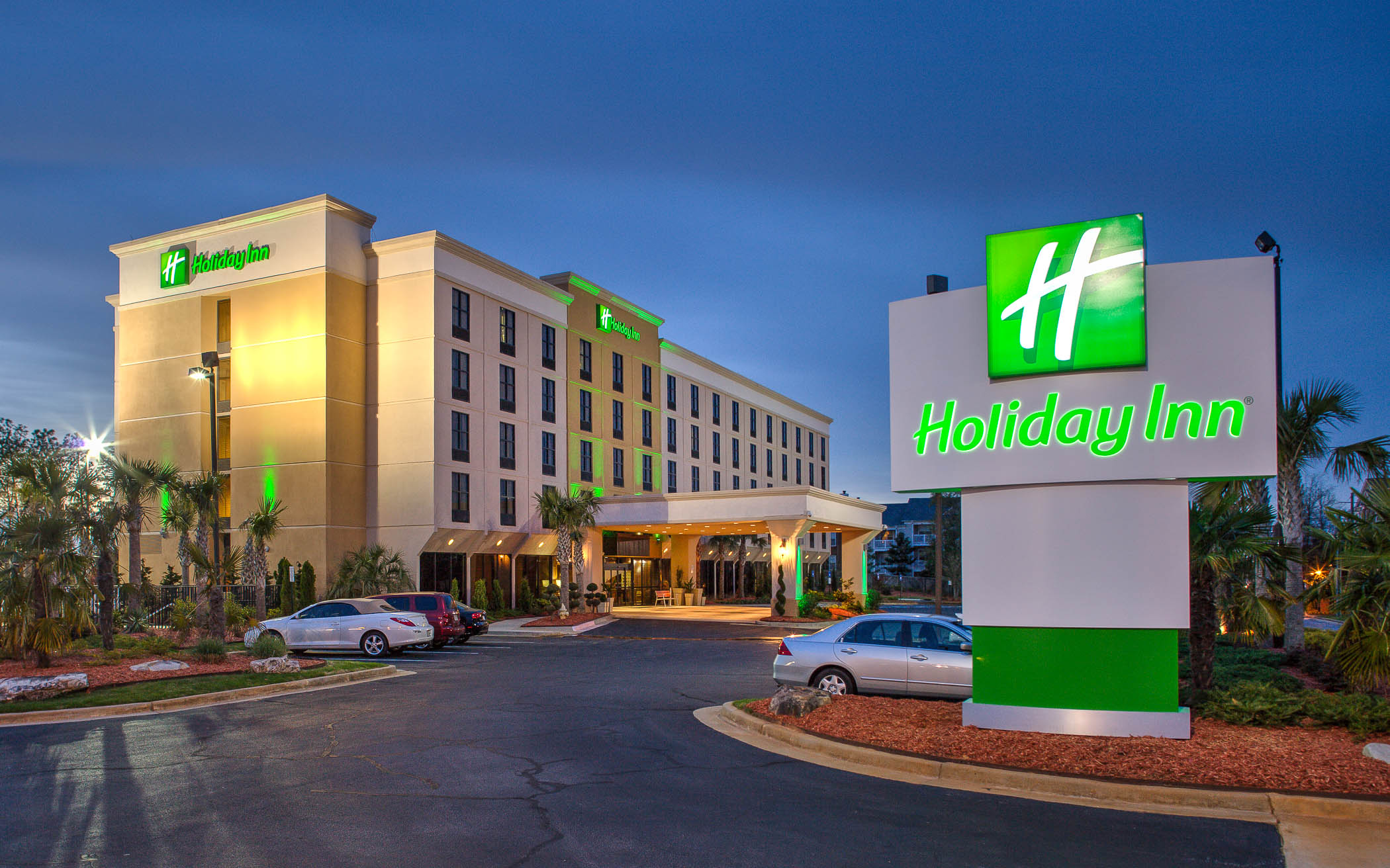 Atlanta Architectural Photographer Holiday Inn