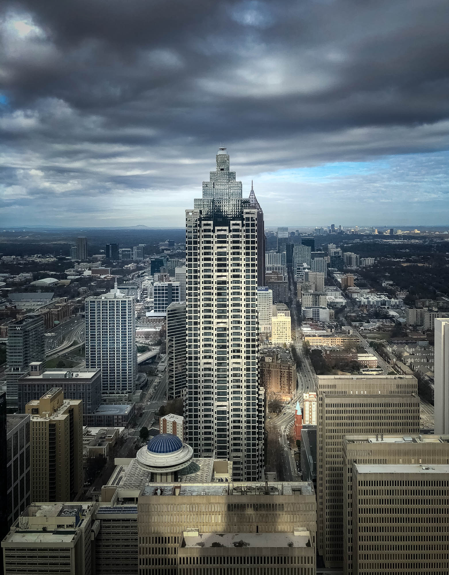Atlanta Skyline from Drone