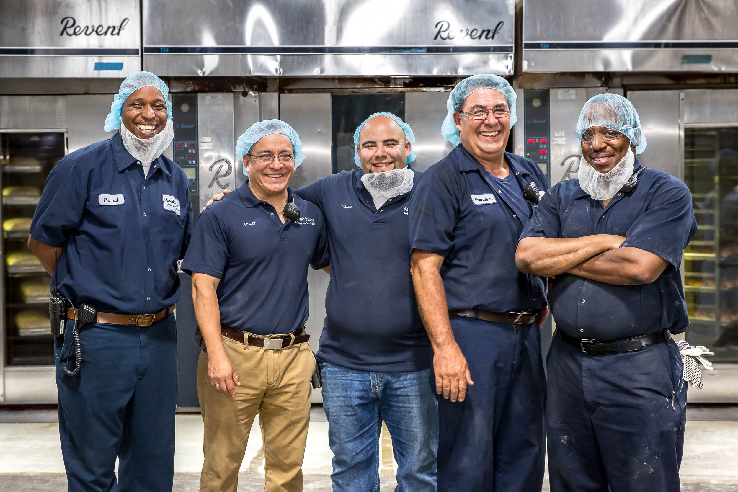 Corporate portrait of plant workers in Atlanta
