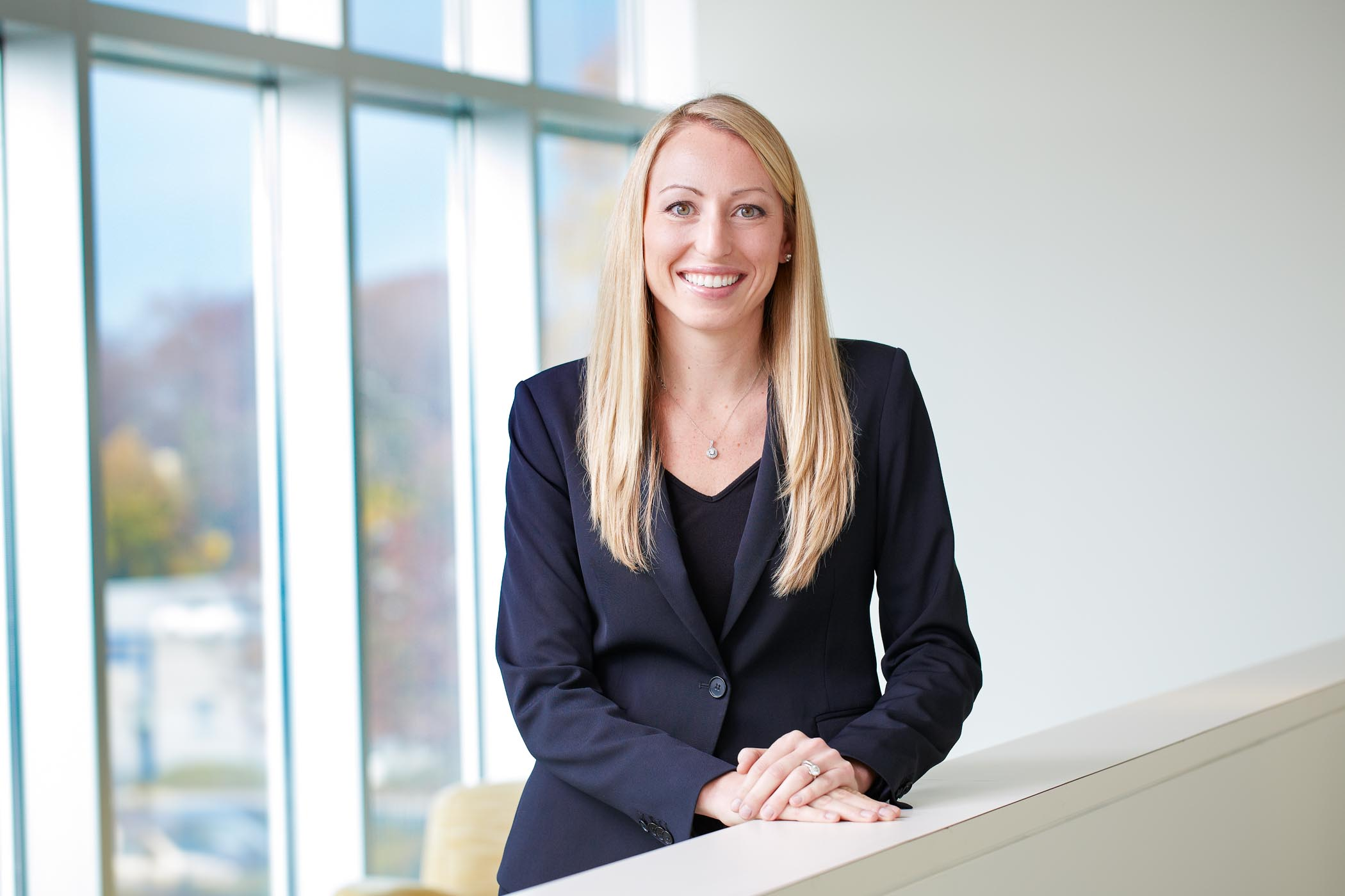 Corporate portrait on location for Fidelity Investments in Atlanta by photographer, Gregory Campbell