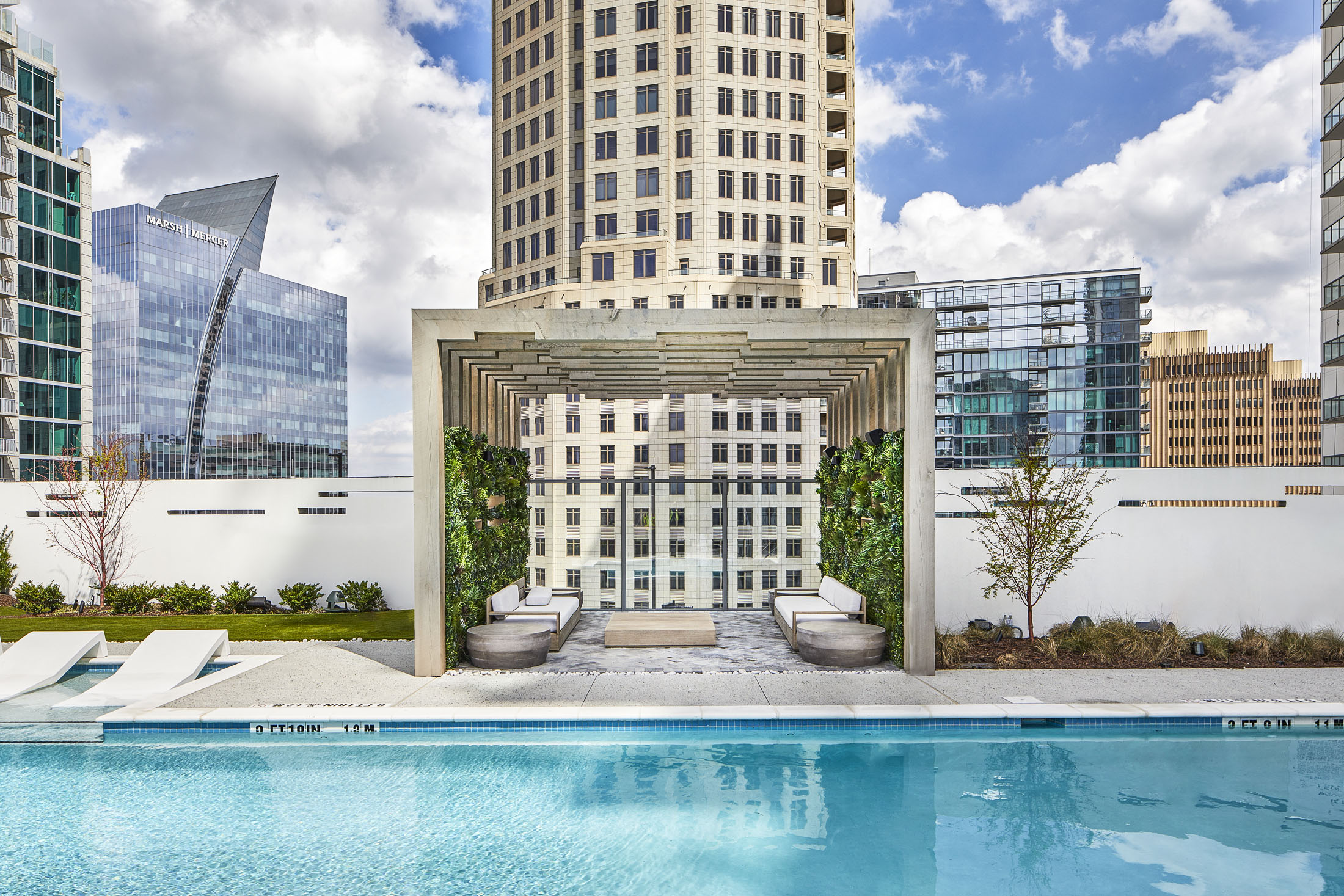 Photography of Pool at Icon Apartments Atlanta